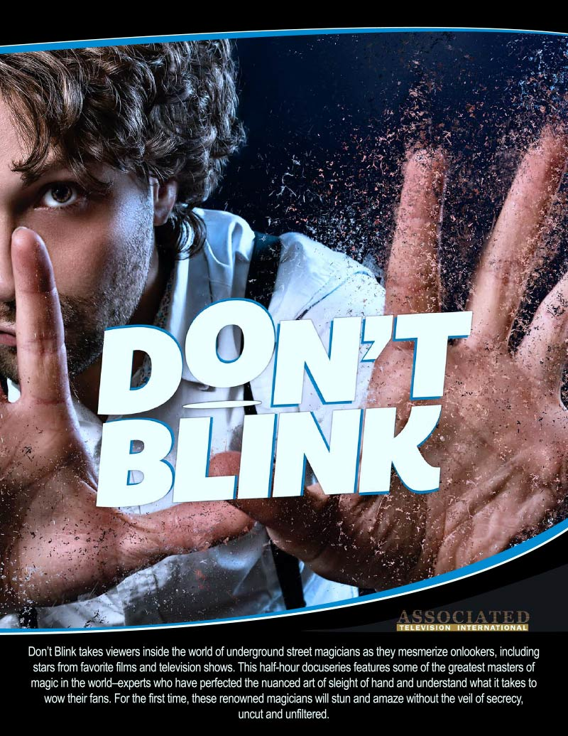 Don't Blink Illusions and Magic poster