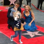 Ryan Reynolds Walk of Fame with Blake Lively